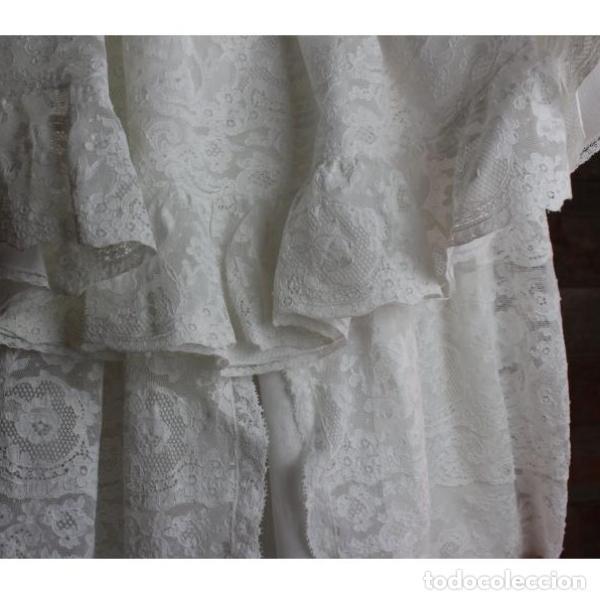 Antigüedades: Precioso traje vestido valencie bautismo - Foto 5 - 135509418