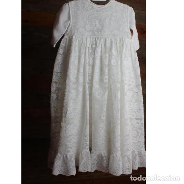 Antigüedades: Precioso traje vestido valencie bautismo - Foto 6 - 135509418