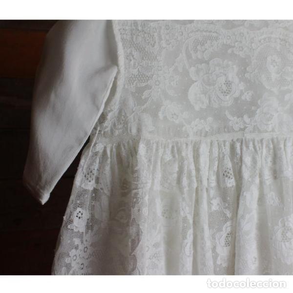 Antigüedades: Precioso traje vestido valencie bautismo - Foto 7 - 135509418