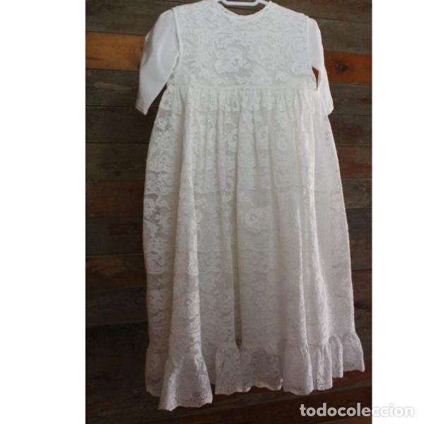 Antigüedades: Precioso traje vestido valencie bautismo - Foto 9 - 135509418