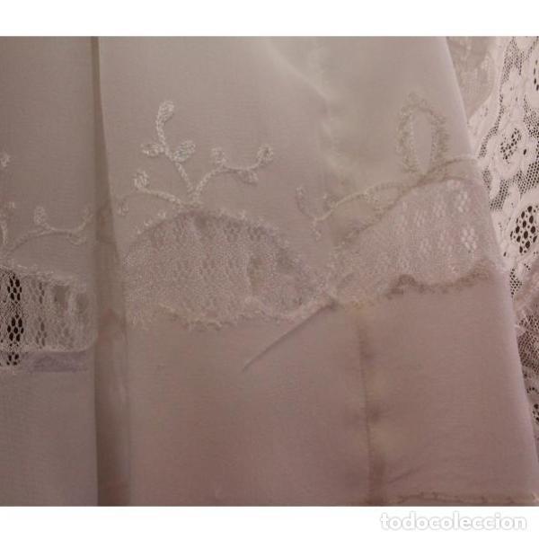 Antigüedades: Precioso traje vestido valencie bautismo - Foto 11 - 135509418