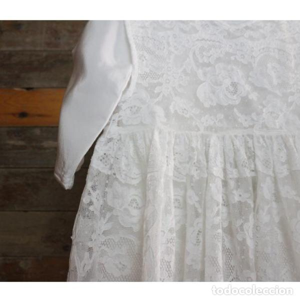 Antigüedades: Precioso traje vestido valencie bautismo - Foto 12 - 135509418