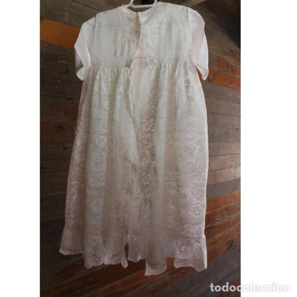 Antigüedades: Precioso traje vestido valencie bautismo - Foto 13 - 135509418