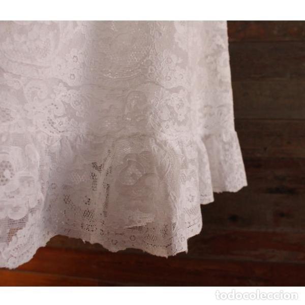 Antigüedades: Precioso traje vestido valencie bautismo - Foto 14 - 135509418