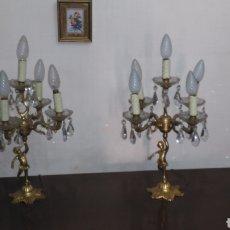 Antigüedades: CANDELABROS. Lote 135526799