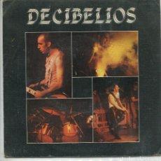 Discos de vinilo: DECIBELIOS / NINGUN HOMBRE DE MUJER / CANCION DE CUNA (SINGLE PROMO 1985). Lote 135548698