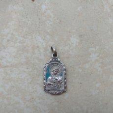 Antigüedades: ANTIGUA MEDALLA SAGRADO CORAZÓN DE MARÍA Y SAN ANTONIO MARÍA CLARET. Lote 135582235
