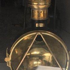 Antigüedades: FAROL DELANTERO LOCOMOTORA VAPOR. Lote 135591538