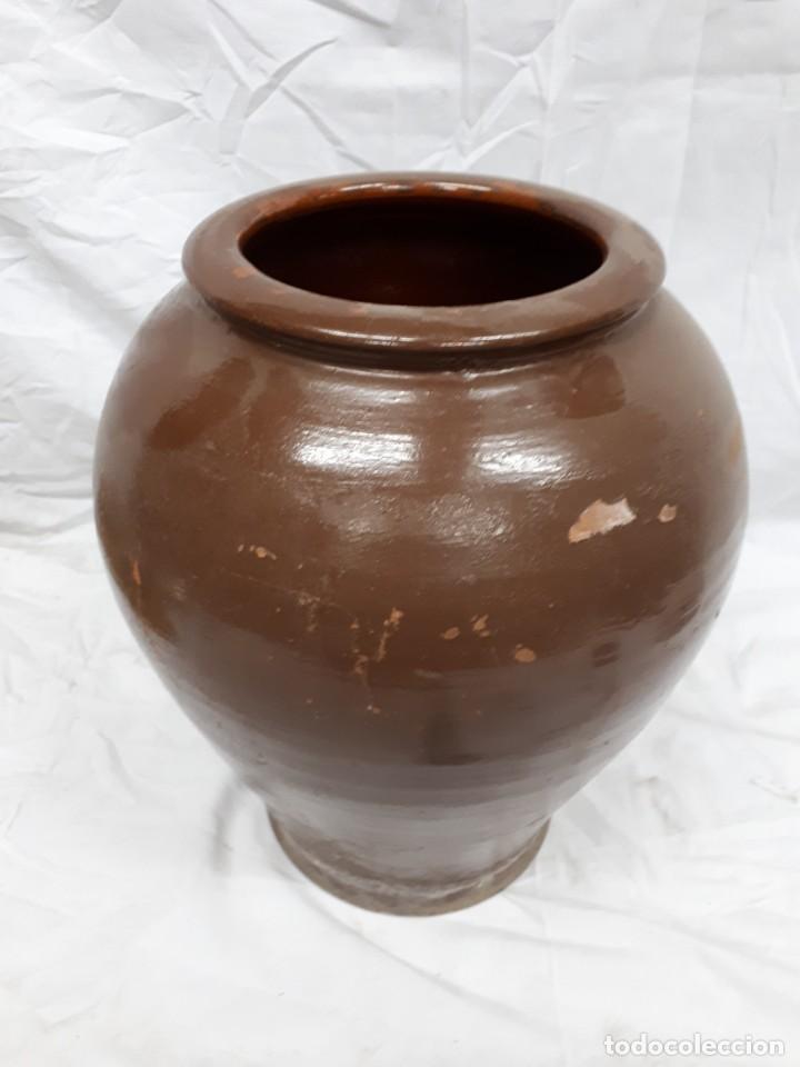 ANTIGUA TINAJA DE BARRO (Antigüedades - Porcelanas y Cerámicas - Otras)