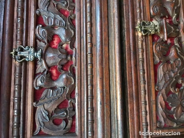 Antigüedades: Magnifico bargueño renacimiento español - Foto 2 - 135620662