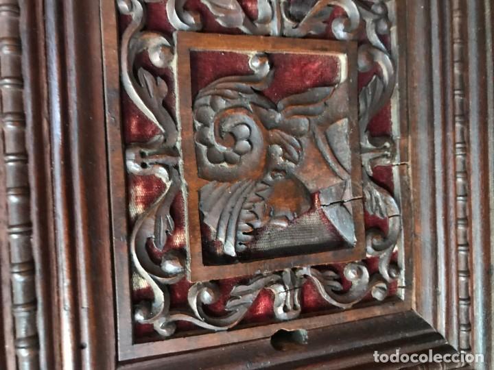 Antigüedades: Magnifico bargueño renacimiento español - Foto 5 - 135620662
