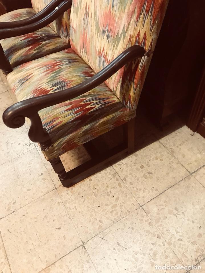 Antigüedades: Pareja de sillones. - Foto 3 - 135636169