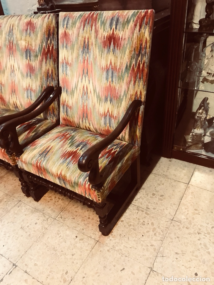 Antigüedades: Pareja de sillones. - Foto 4 - 135636169