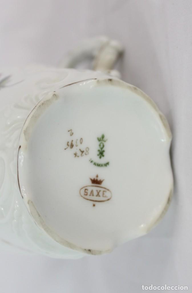 Antigüedades: Lechera numerada y sellada porcelana alemana pps s XX - Foto 6 - 135644563