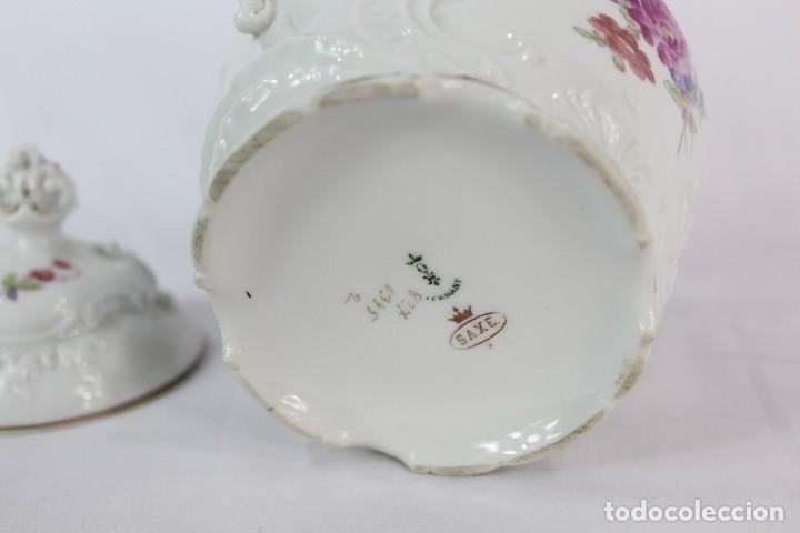 Antigüedades: Lechera numerada y sellada porcelana alemana pps s XX - Foto 3 - 135644651