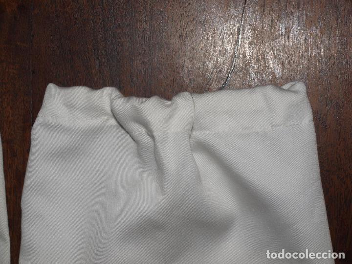 Antigüedades: ANTIGUOS MANGUITOS DE FAENA BLANCOS. 38 CM LARGO. VER FOTOS Y DESCRIPCION - Foto 6 - 135684151