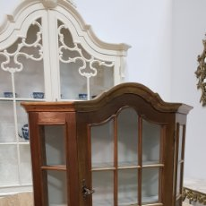 Antigüedades: VITRINA RUSTICA. Lote 135763283