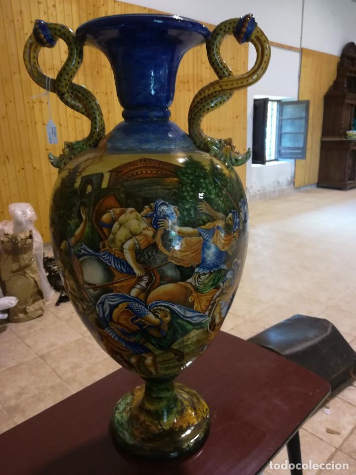Antigüedades: JARRON DE LOZA DE FAENZA - Foto 2 - 135779998