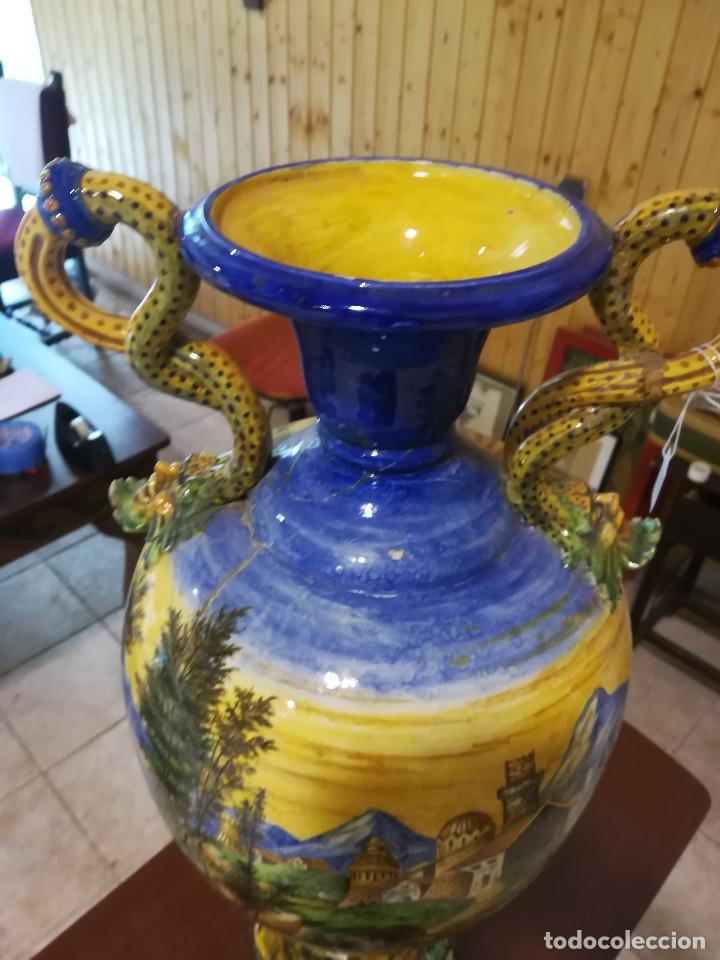 Antigüedades: JARRON DE LOZA DE FAENZA - Foto 3 - 135779998