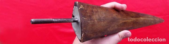 Antigüedades: ANTIGUO PICO DE PEZ ESPADA. TAXIDERMIA. FORMA DE ESPADA. 55 cm. PRINCIPIOS DE SIGLO XX. - Foto 4 - 223280047