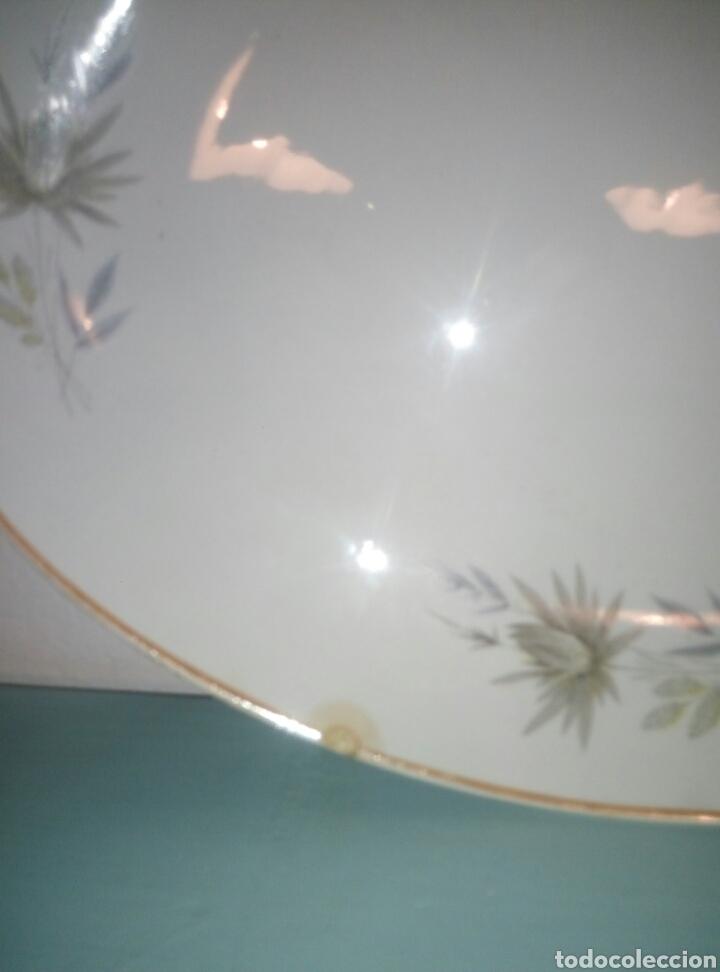 Antigüedades: Fuente bandeja plato porcelana San Claudio - Foto 2 - 135804557