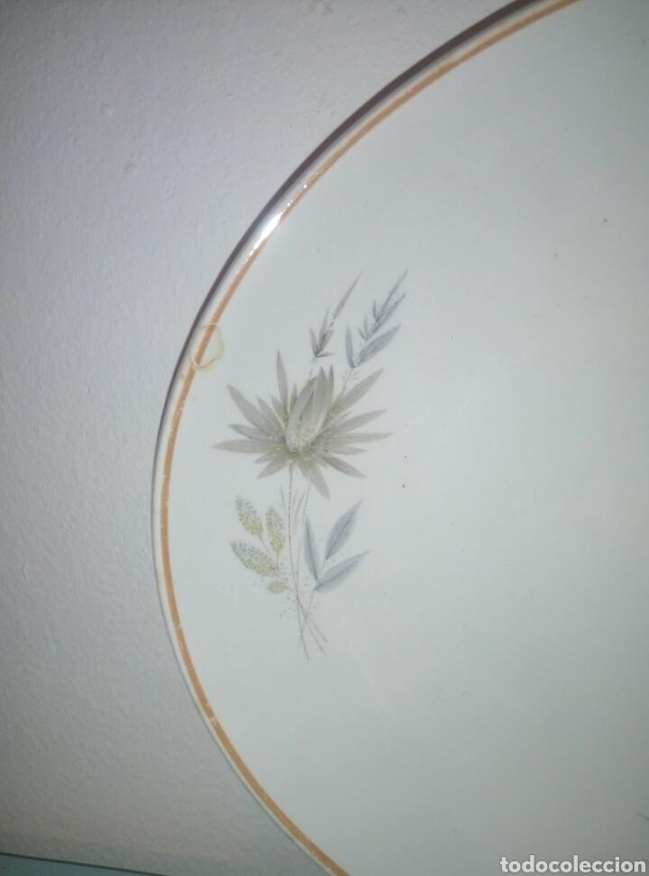 Antigüedades: Fuente bandeja plato porcelana San Claudio - Foto 3 - 135804557