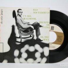 Discos de vinilo: DISCO EP DE VINILO - ESPINÀS / ELS SETZE JUTGES - CONCENTRIC - AÑO 1966 - FOLLETO CON CANCIONES. Lote 135805683