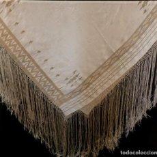 Antigüedades: ANTIGUO MANTÓN DE SEDA ART DECO - PRINCIPIOS S.XX. Lote 135812074