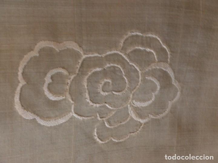 Antigüedades: ANTIGUO MANTÓN DE SEDA ART DECO - DRAGONES CHINOS - PRINCIPIOS S.XX - Foto 9 - 135815342