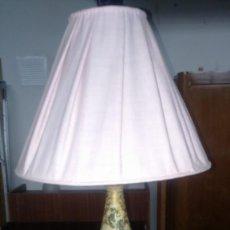 Antigüedades: LAMPARA DE MESITA ANTIGUA AÑOS 1930. Lote 135821758