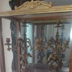 Antigüedades: CANDELABROS DEL SIGLO XIX.. Lote 135827558