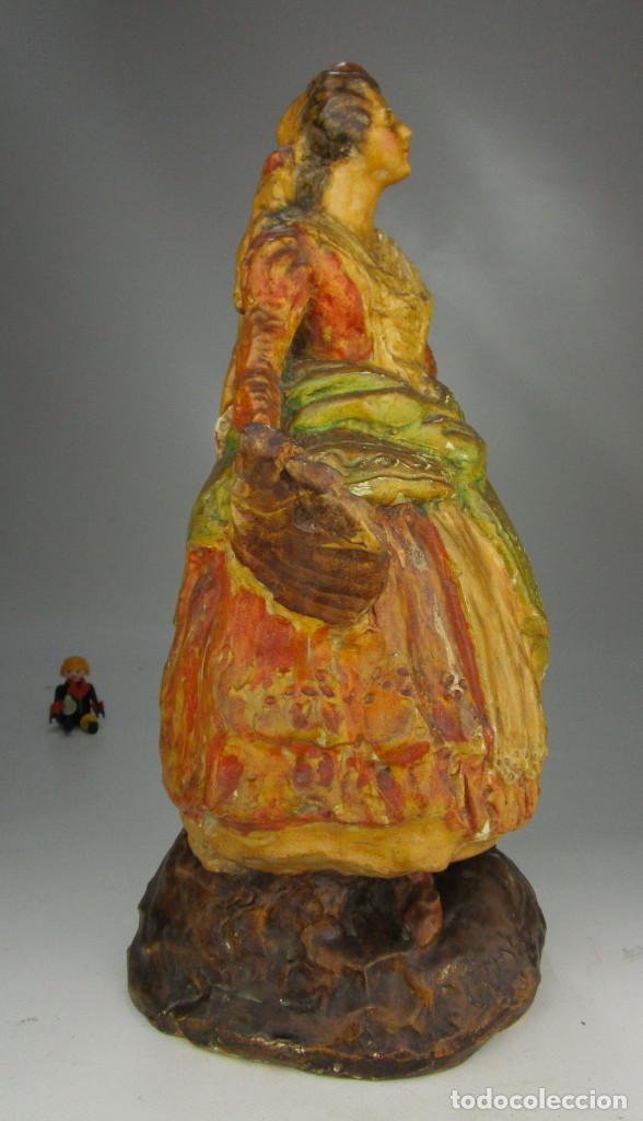 Antigüedades: FIGURA ANTIGUA DE MUSEO! ESTILO Y EPOCA PEYRO, DAMA GOYESCA TORRENTE 1927 MANOLA - Foto 4 - 135835322