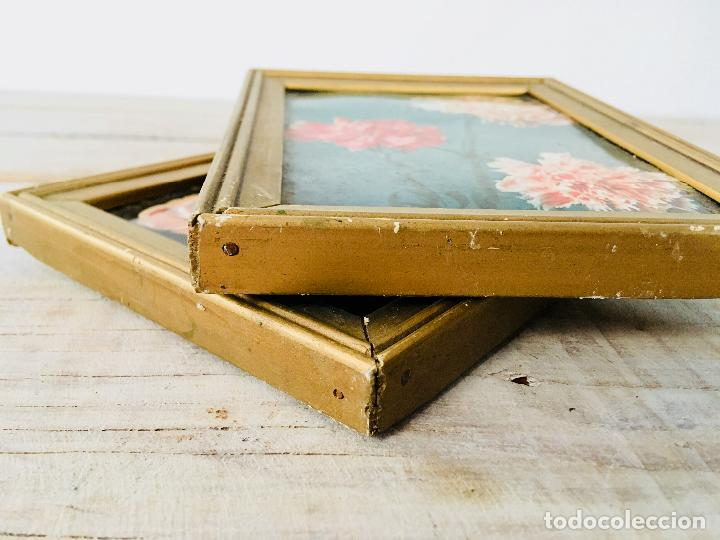 cuadro rectangular de madera lote de 2 - marco - Comprar Marcos ...