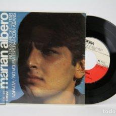 Discos de vinilo: DISCO EP DE VINILO - MARIAN ALBERO / VAM SER TOTS AL JORN DE LA TARDOR - EDIGSA - AÑO 1967. Lote 135885035