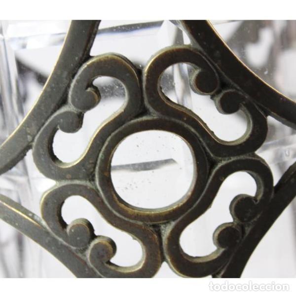 Antigüedades: Antiguo farol de bronce - Foto 2 - 135894682