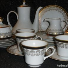 Antigüedades: WEIMAR ALEMANA JUEGO DE CAFÉ. Lote 135897670