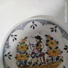 Antigüedades: PUENTE DEL ARZOBISPO , PRECIOSO PLATO. Lote 135900458