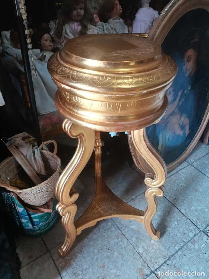 MÉNSULA ANTIGUA EN PAN DE ORO (Antigüedades - Muebles Antiguos - Ménsulas Antiguas)