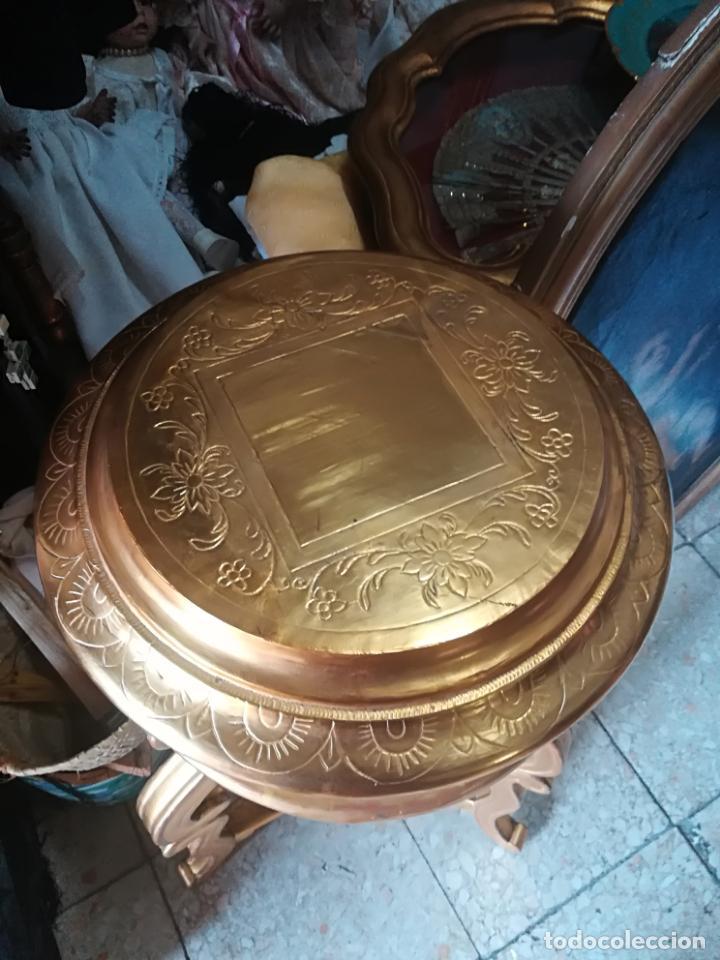 Antigüedades: Ménsula antigua en pan de oro - Foto 2 - 135909894