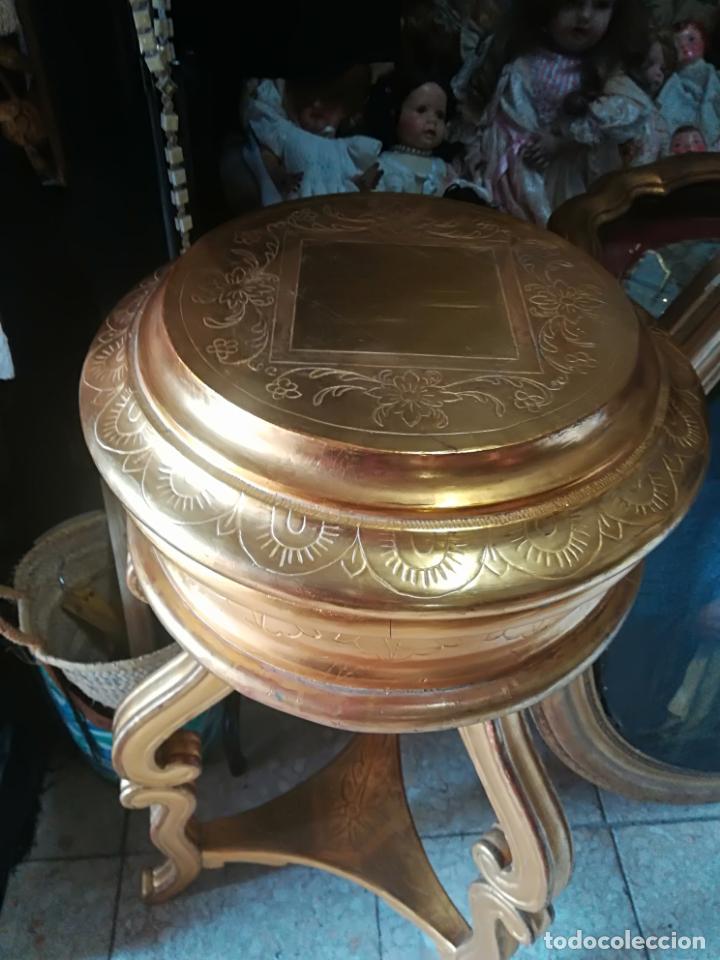 Antigüedades: Ménsula antigua en pan de oro - Foto 5 - 135909894