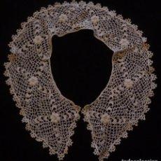 Antigüedades: ANTIGUA CAPELINA DE ENCAJE DE GUIPUR DE IRLANDA - IMAGEN S.XIX . Lote 135930022