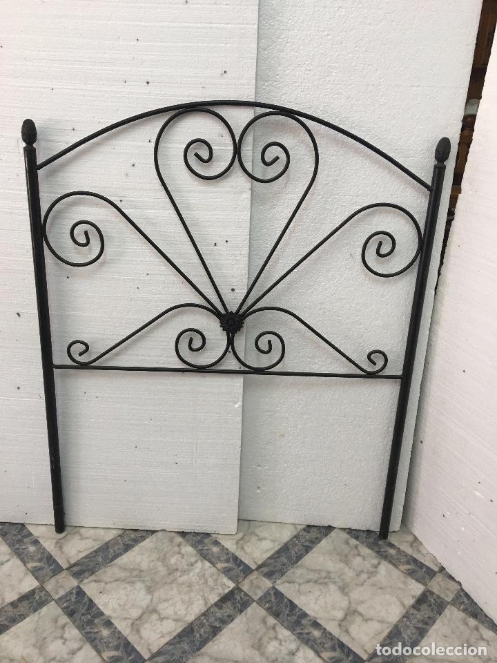 CABECERO DE FORJA (Antigüedades - Muebles Antiguos - Camas Antiguas)