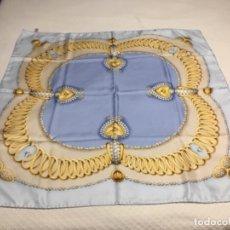 Antigüedades: PAÑUELO ITALIANO DE SEDA. Lote 136014910