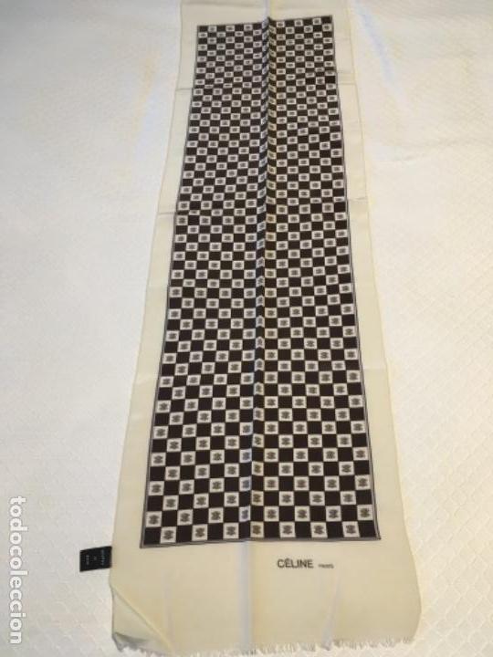 FOULARD CELINE DE SEDA (Antigüedades - Moda - Pañuelos Antiguos)