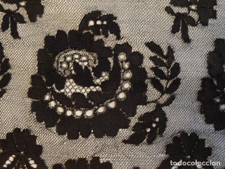 Antigüedades: Mantilla Negra - Foto 4 - 136044958