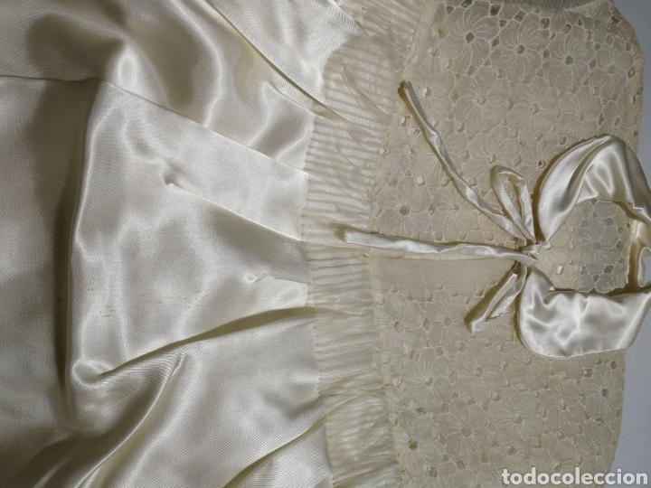 Antigüedades: ANTIGUO CAMISÓN DE NOVIA - Foto 2 - 136074358