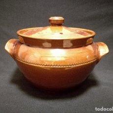 Antigüedades: CAZUELA CERAMICA INGLESA - PEARSONS OF CHESTERFIELD. Lote 136080314