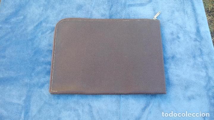 21b75d42b antigua cartera portadocumentos - en piel - año - Comprar en ...