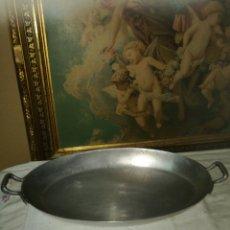 Antigüedades: BESUGUERA POCO VISTA DE ALUMINIO MMM. Lote 136128470