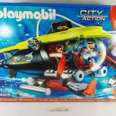 Playmobil: SUBMARINO DE ALTA MAR CON MOTOR PLAYMOBIL 4909. Lote 136176830